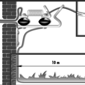 izolator-odgromnik- instalacja