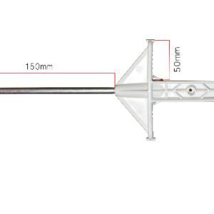 palik słupek biały 156 cm- rys. 2